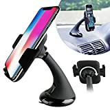 Car Mount Holder Windscreen Dash 360 Rotation For Smartphones