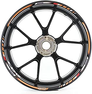 SpecialGP color-matched adhesive rim-striping wheel rim pin stripe pinstriping tape sticker decals for Honda CBR 1000RR REPSOL 17-inch wheels