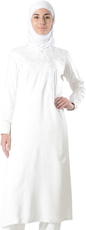 EastEssence Embroidered Extra Long Hajj Umrah Tunic