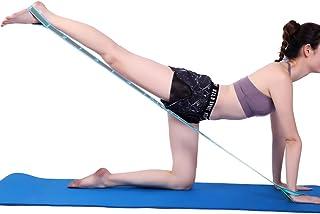 SKY TOP POWER Multi Fitness Yoga Belt Yoga Stretch Belt Strap Lanyard Yoga Rope Tube Tools 9 Loops