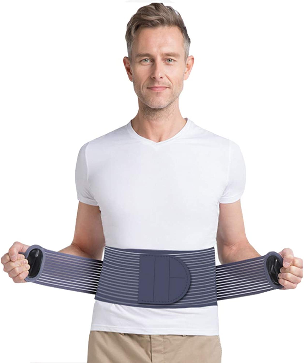 Back Braces, Corset Support, Pain Relief Belt Predection and Ease of Waist Stability and Breathable Mesh Panel