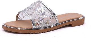 Women Summer Sandals Beach Slipper Indoor/Outdoor Flip-Flops Flat Shoes