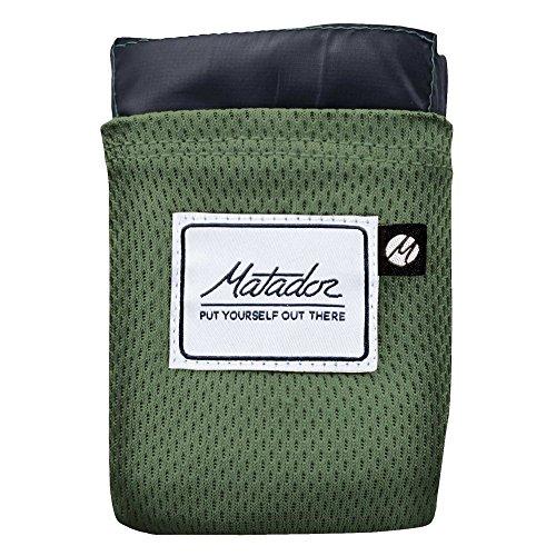 マタドール Matador ポケットブランケット 2.0 グリーン/グレー 20370015088000