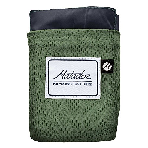Matador Pocket Blanket 2.0 New Version, Picnic, Beach, Hiking, Camping. Water Resistant...