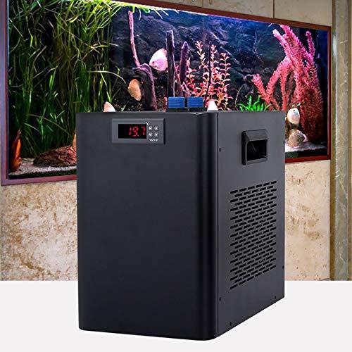 DYRABREST 160L 110V Aquarium Chiller, Fish Tank Water Cooler Water Chiller Cooling System for Home Fish Shrimp Breeding Aquaculture