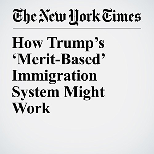 How Trump's 'Merit-Based' Immigration System Might Work copertina