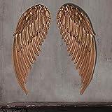 Schmiedeeisen Engel Flügel LOFT Industriellen Wind Dekorative Wandbehang Dekorationen 88
