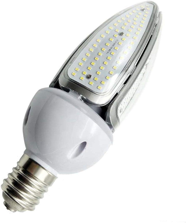 LED-Birne E26   E27 LED Maisbirne 2835SMD 280LED Wasserdichte olivfarbene Glühlampe 50W (500W Halogen-quivalent) für Straenlaterne-Heckbeleuchtung Garage AC 100-277V (Gre   Kaltes Wei)
