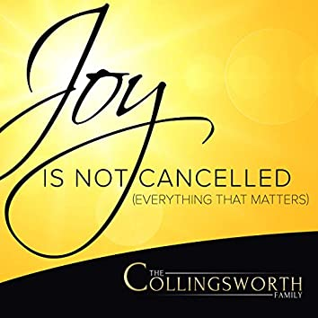 Joy Is Not Cancelled (Everything That Matters)