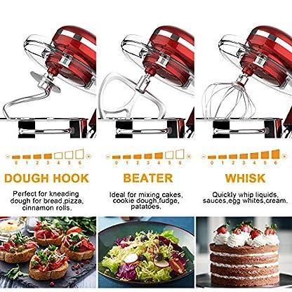 Howork-Kuechenmaschine-8L-Edelstahl-Schuessel-1500W-fenKue-chenmaschine-Multifunktional-Reduzierte-Geraeusche-Knetmaschine-mit-Ruehrbesen-Knethaken-Spritzschutz