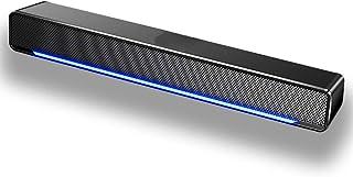 Soundbar, USB Powered Sound Bar Speakers for Computer Desktop Laptop PC