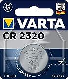 Pila de botón de litio de 3 V VARTA Electronics CR2032, pilas de botón en un blíster original de 1 unidad