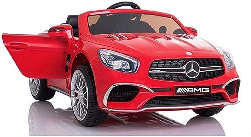Kinderfahrzueg Elektroauto Mercedes SL65 ROT 2,4G Ledersitz Felgen EVA-Reifen 2x45W 2340