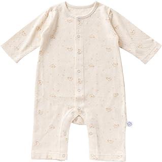 cremé de coco 木馬 柄 接結 チケット 付き カバーオールオール 新生児 赤ちゃん 綿100% 日本製 CA