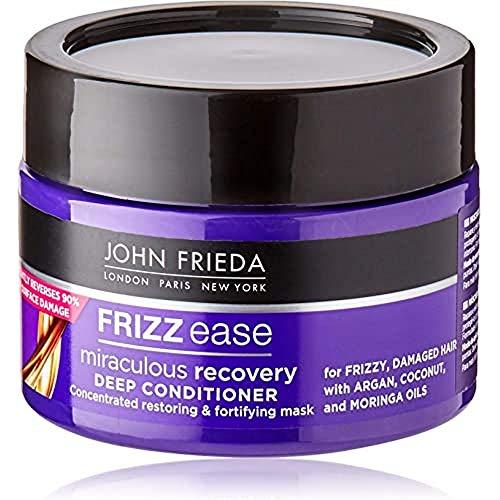 John Frieda Mascarilla Hidratante Miraculous Recovery 250ml | Reparadora | Pelo Seco y Dañado | Pelo Encrespado | Quebradizo