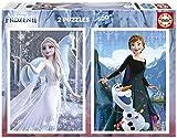 Educa Disney Frozen II. 2 Puzzles de 500 Piezas de Ana y Elsa. Ref. 19016
