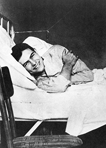 Ernest Hemingway (1899-1961)Namerican Writer Recuperating In The American Red Cross Hospital In Milan Italy July 1918 Poster Print by (18 x 24)