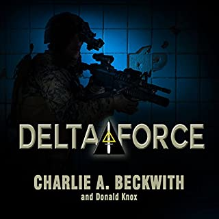 Delta Force audiobook cover art