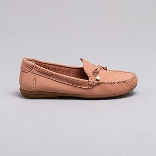 Loafer Nobuck Nude