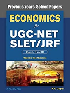 Economics for UGC-Net/Slet/Jrf Paper I, II, and III Previous Years' Solved Papers with Key