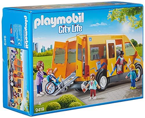 PLAYMOBIL City Life Autobús Escolar, A partir de 4 años (9419)