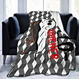 aiteweifuzhuangdian Lustiger Hallo-Wiener Wurst Hund mit Dackel Flanell Decke Warme Decke 80 '' x 60 große weiche Decke