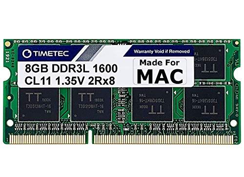 Timetec Hynix IC DDR3 1600MHz PC3-12800 SODIMM Memory kompatibel mit Apple iMac (8GB)