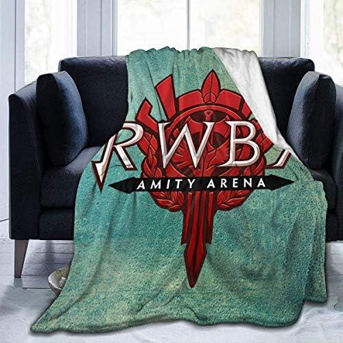 N / A Couverture Chaude,Flanelle Luxe Doux Blankets,Couverture Chaude en Flanelle,Couvertures Et Plaids,Lit Chaud Couverture,Couverture Moelleuse,RWBY L