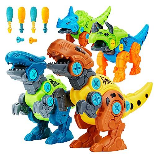 Lekebaby Dinosaurier Montage Spielzeug,...