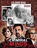 Criminal Minds Dots Lines Spirals Waves Coloring Book: Embellish Your Lives By A Completely Interesting Activity: Enjoy Coloring Pretty Illustrations ... Book For Adult Stress And Anxiety Relief