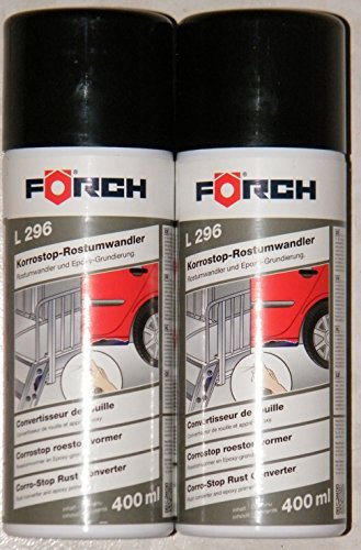 Förch Sparpack KORROSTOP*Profi Epoxy-Rostumwandler-Spray 2X 400ml= 800ml