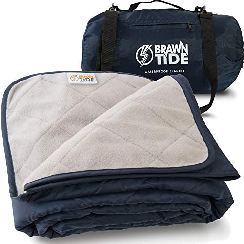 Brawntide Large Outdoor Waterproof Blanket Thick Fleece Warm Windproof Sandproof Stuff Sack product image