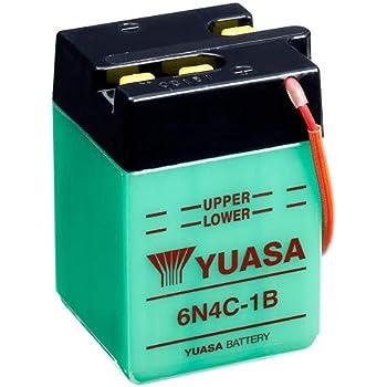 Yuasa Batterie 6n4c 1b Offen Ohne Saeure Auto