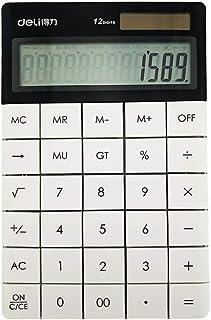 Deli E1589 12 Digits Calculator, White