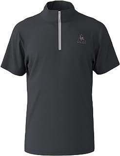 ルコックスポルティフ(le coq sportif) ハーフジップ半袖シャツ QMMNJA70ZZ