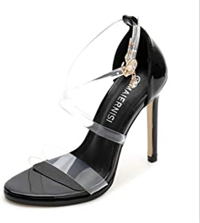 SHANLEE Women's Ankle Strap Heel Sandals,Dress,Party, Wedding Shoes Open Toe High Heel Sandals for Women