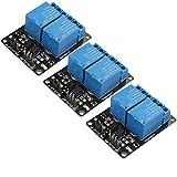 HALJIA, modulo relè a 2 canali, scheda di espansione 5 V, scheda di espansione ad alte prestazioni, universale, accessori con optoaccoppiatore per Raspberry Pi Arduino PIC AVR MCU DSP ARM TTL Logic