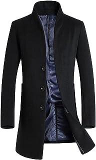 Vogstyle Uomo Sottile Caloroso Cappotto Invernale di Lana(XS-XL)