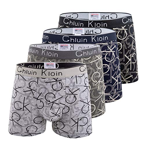 Beste Heren Cadeau Boxer Briefs Ondergoed voor heren met Premium Katoen – Grote Y-voorkant – 4 Pack Veelkleurig – Italiaans Design Trunks – Overdekt door GK