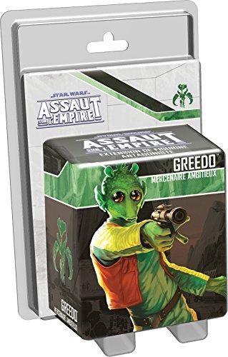 Asmodee – Star Wars Assaut Empire – Greedo – Mercenaire Ambitieux, FFSWI31, geen