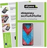 dipos I 2X Schutzfolie matt kompatibel mit LG V30 Folie Bildschirmschutzfolie