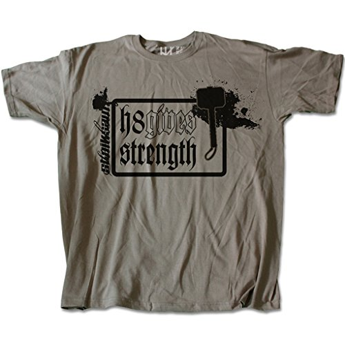 H8Gives Strength (T-Shirt) Taille M–Marque: Heide Vêtements