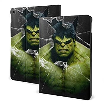Hulk Avenger Case Fit iPad One Size with Auto Sleep/Wake Ultra Slim Lightweight Stand Leather Case 10.2