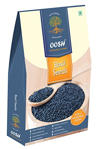Basil Seeds, Tukmariya, Sabja Seeds 500 gm (17.63 OZ)