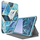 i-Blason Case Designed for Galaxy Tab A 10.1 (SM-T510/T515) 2019, [Cosmo] Full-Body Protection with Built-in Screen Protector Case for Samsung Galaxy Tab A 10.1 2019 Release (Blue)