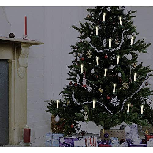 trådlös julgransbelysning kjell