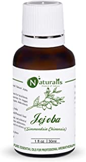Naturalis Essence of Nature Extra Virgin & Unrefined Cold Pressed Golden Jojoba Carrier Oil for face and Hair - 30ml
