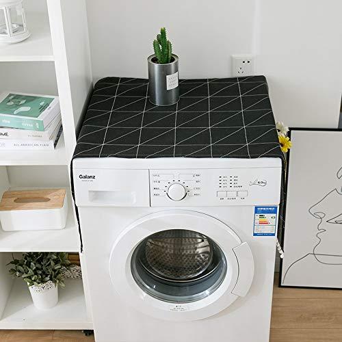 Haushalt Kühlschrank Staubschutz Multi-Funktions-Waschmaschine Top Cover Universal Sonnenschutz-Abdeckung mit Aufbewahrungstasche für Haushaltsküchenzubehör