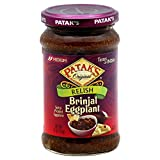 Patak's Brinjal (Egg Plant) Relish 11-ounce Jars (Pack of 6)...