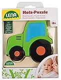 Lena Madera con diseño de vehículos, 4 puzles Diferentes, 100% Certificado FSC, 4 Puzzles de 4 a 6 Piezas, Juego para niños pequeños a Partir de 18 Meses. (SIMM Spielwaren GmbH 32080EC)